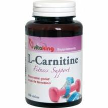 L-Carnitine 500mg-Vitaking (100 db) tabletta