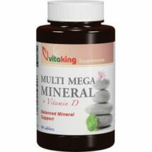 Multi Mega Minerals--Vitaking  (90 db ) tabletta