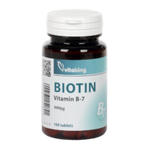 B7 -Biotin 900mcg -Vitaking tabletta 100 db