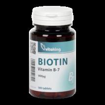 B7 -Biotin 900mcg -Vitaking tabletta 100 db