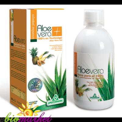 Specchiasol® 8000mg acemannan tartalmú Aloe Ital - Ananásszal,Papayával és fekete ribizlivel - 1000ml