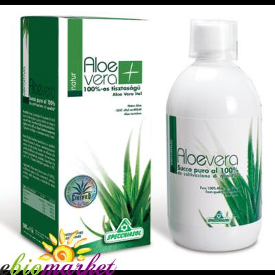 Specchiasol® 8000mg acemannan tartalmú Aloe Ital - Natur - 1000ml