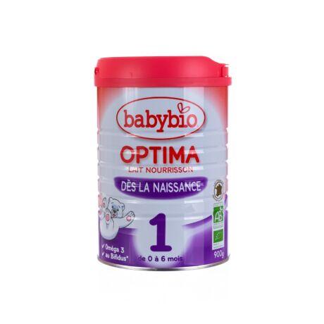 Babybio Optima 1 - bio bébi tejpép 900 g