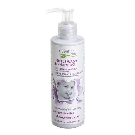 Essential Care Organikus babafürdető és sampon  200 ml