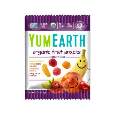 YumEarth Organikus gyümölcsös cukorkák 19,8 g