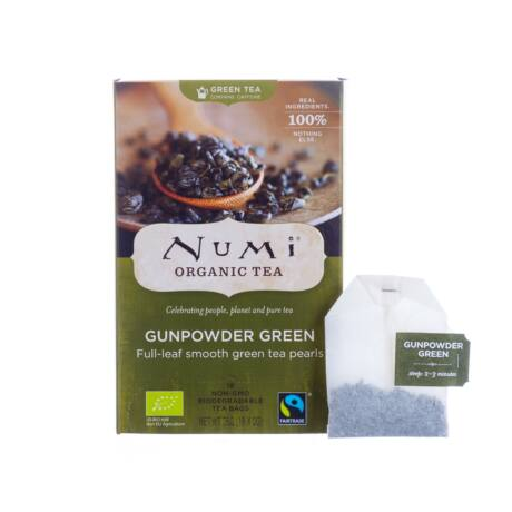 Numi Organic Tea Bio gunpowder zöld tea 18 x 2 g