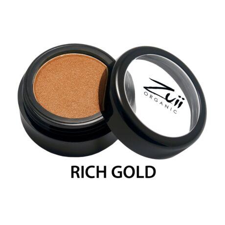 Zuii Organic Bio szemhéjpúder Rich Gold