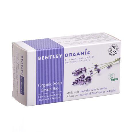 Levendulás bio szappan aloéval és jojobával (150 g)