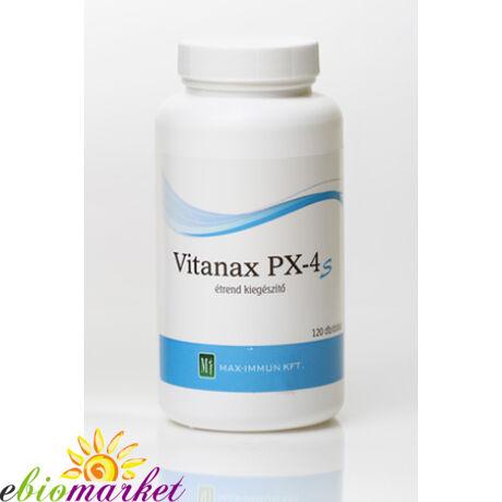 VITANAX PX4S KAPSZULA 120DB  MAX-IMMUN