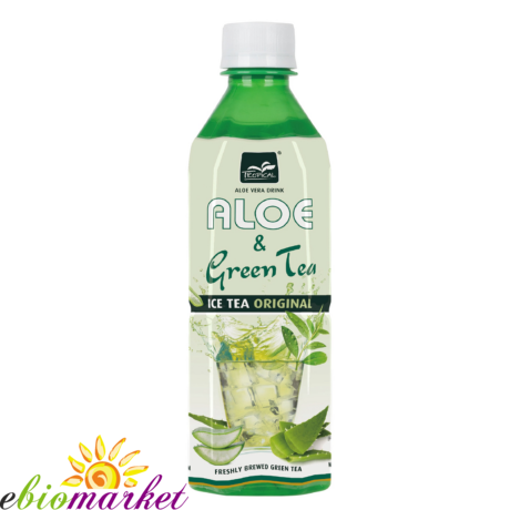 Tropical Aloe Vera Citromos Zöldtea 500 ml