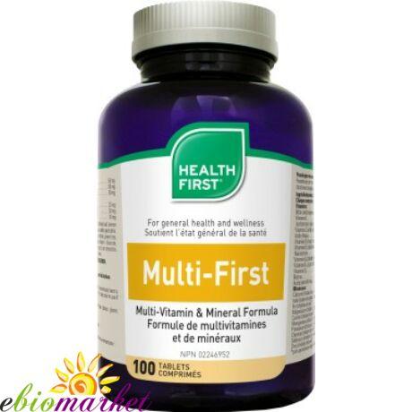 Multi-First multivitamin és ásvány Health First