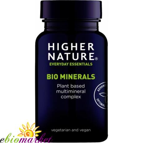 BIO MINERALS TABLETTA 60DB HIGHER NATURE