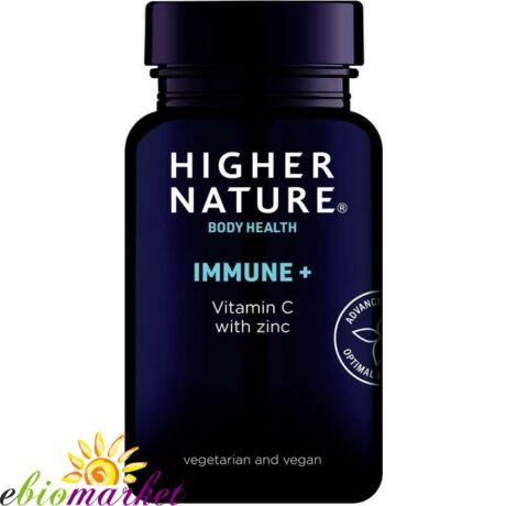 MMUNE+ C-VITAMINNAL ÉS CINKKEL, 90 DB HIGHER NATURE