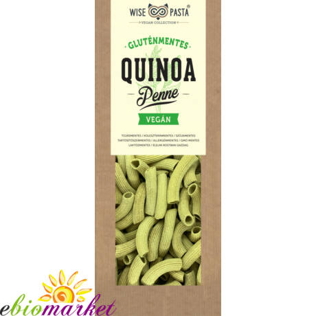 QUINOALISZTES PENNE 200G WISE PASTA VEGAN COLLECTION