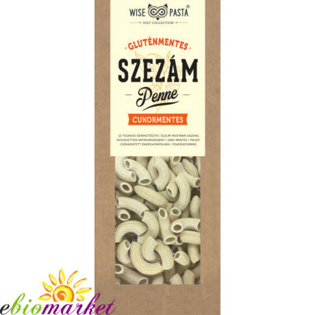 SZEZÁMLISZTES PENNE 200G WISE PASTA DIET COLLECTION
