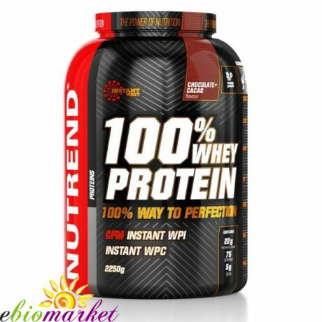 NUTREND 100% WHEY PROTEIN 2,25KG - PINACOLADA
