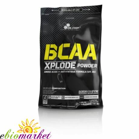 OLIMP BCAA XPLODE POWDER 1000G - STRAWBERRY
