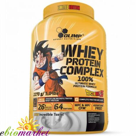 OLIMP DRAGON BALL WHEY PROTEIN COMPLEX LIMITED EDITION 2270 G - COOKIE-CREAM