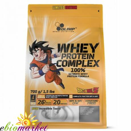OLIMP DRAGON BALL WHEY PROTEIN COMPLEX LIMITED EDITION 700 G - WHITE CHOCOLATE WITH RASPBERRY