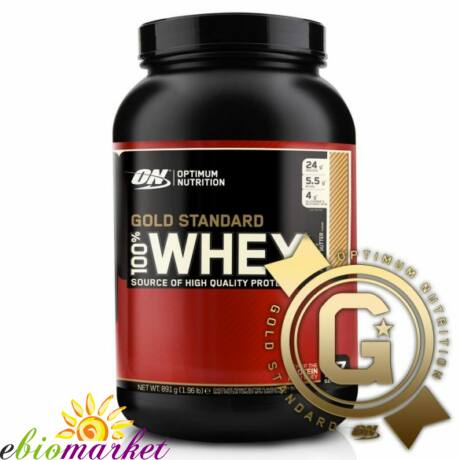 ON 100% WHEY GOLD STANDARD 908G - DOUBLE CHOCOLATE