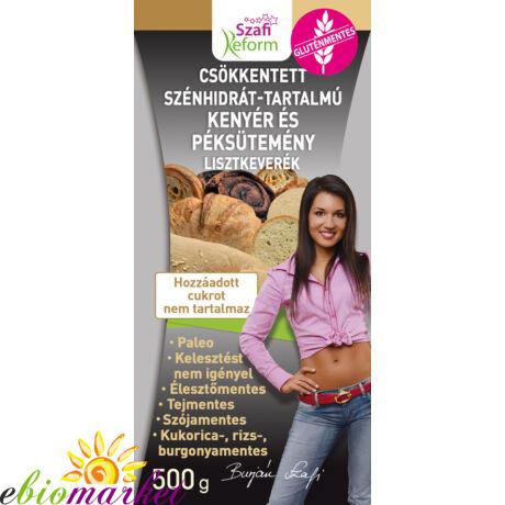 Szafi Reform GM CH-csökkentett kenyér és péksütemény lisztkeverék 500g