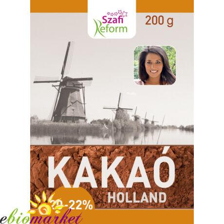 Szafi Fitt holland kakaó 20-22% 200g