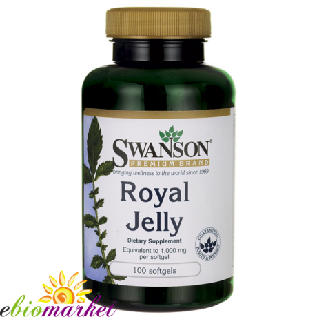 Royal Jelly (Méhpempő)-Swanson  1000mg (100 db ) gélkapszula