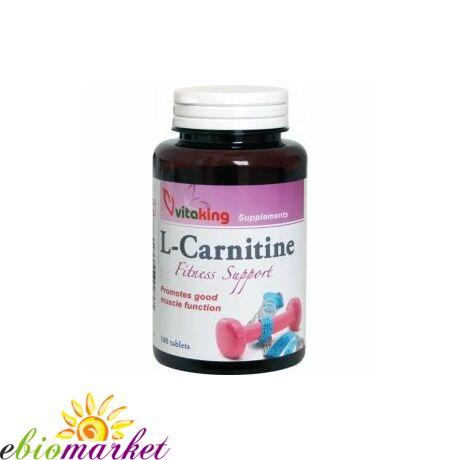 L-Carnitine 500mg-Vitaking (100 db) tabletta