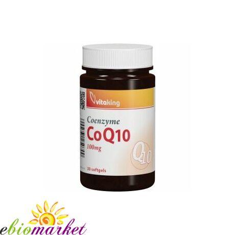 Q10 Koenzim-Vitaking 100mg (30 db) gélkapszula