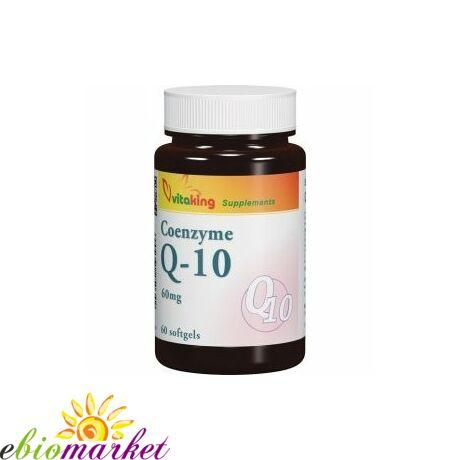 Q10 Koenzim- Vitaking 60mg (60 db) gélkapszula
